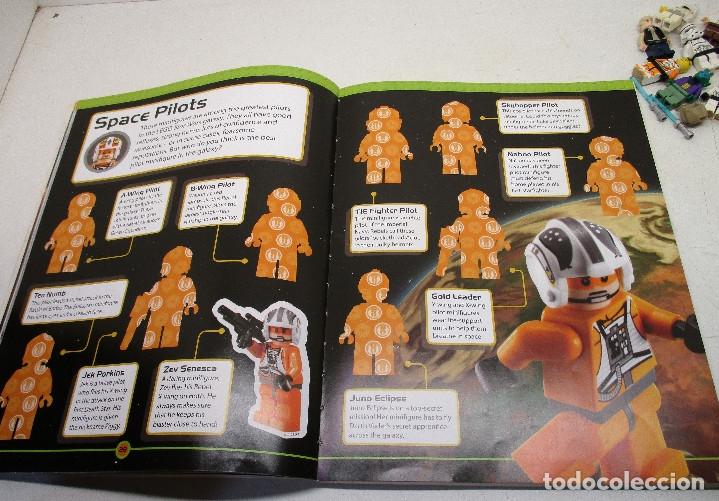 Juegos construcción - Lego: LEGO STAR WARS lote de figuras + libro adhesivos - Foto 10 - 129747343