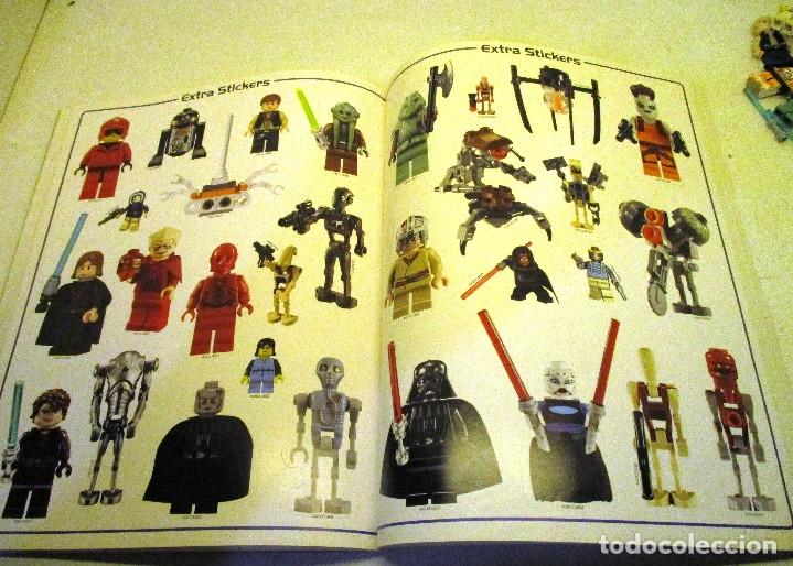 Juegos construcción - Lego: LEGO STAR WARS lote de figuras + libro adhesivos - Foto 11 - 129747343