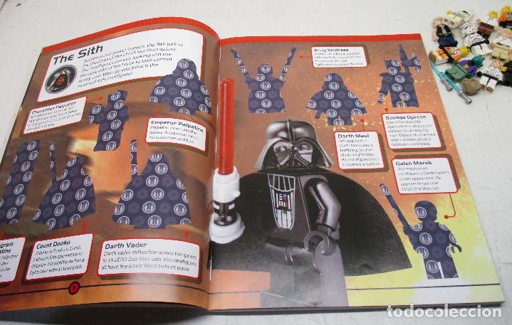 Juegos construcción - Lego: LEGO STAR WARS lote de figuras + libro adhesivos - Foto 12 - 129747343