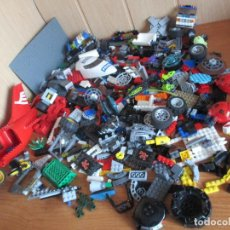 Juegos construcción - Lego: LEGO: LOTE DE RESTOS VARIADOS DE PIEZAS DE LEGO (2 KILOS DE PESO). Lote 129939031