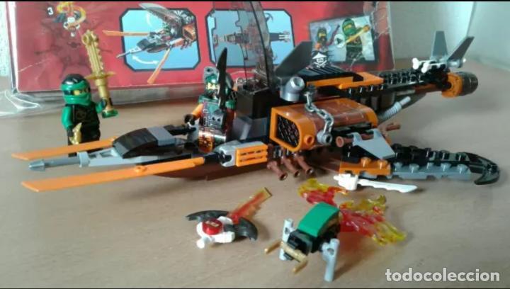 Lego Ninjago 70601 Masters Of Spinjitzu Con Ca Comprar Juegos