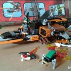 Juegos construcción - Lego: LEGO NINJAGO 70601 MASTERS OF SPINJITZU CON CAJA PERO SIN INSTRUCCIONES, AUNQUE SE PUEDEN DESCARGAR. Lote 129990647