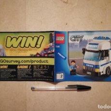 Juegos construcción - Lego: INSTRUCCIONES ORIGINAL - POLICE CITY REF. 7288 - LEGO - CAMION. Lote 130078727