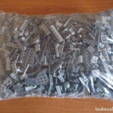 Juegos construcción - Lego: LEGO: BOLSA GRANDE DE 2,5 KILOS DE PIEZAS, TODAS GRISES , DE TONO MILITAR,STAR WARS,ETC). Lote 130251558