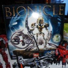 Juegos construcción - Lego: LOTE LEGO CAJA BIONICLE 8596 TAKANUVA Y OTRAS LEGO LO QUE SE VE EN LAS FOTOS . Lote 130559074