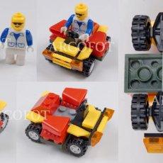Juegos construcción - Lego: COCHE LEGO O TIPO LEGO - EL DE LAS FOTOS - COMO EN LAS FOTOS. Lote 130759516