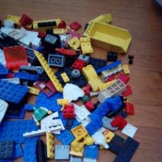 Juegos construcción - Lego: GRAN LOTE DE PIEZAS LEGO Y POCOS DE MEGA BLOKS PESO TOTAL 1,684 GRAMOS. . Lote 130770096