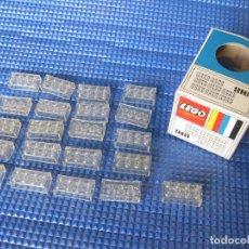 Juegos construcción - Lego: CAJA DE PIEZAS LEGO CON BRICKS O LADRILLOS TRANSPARENTES - REF 918. Lote 131137136