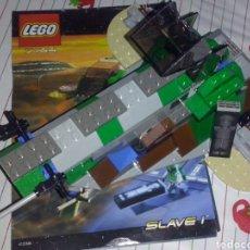 Juegos construcción - Lego: LEGO 2000 STAR WARS RF 7144 EPISODIO 5 ~ DESCATALOGADA NAVE SLAVE 1 DE BOBA FETT TRANSPORTE HAN SOLO. Lote 131145789