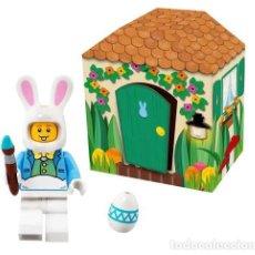 Juegos construcción - Lego: LEGO 5005249 MINIFIGURA CONEJO DE PASCUA ¡NUEVO EN CAJA! ¡NEW! . Lote 131181904