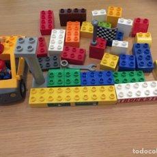 Juegos construcción - Lego: LEGO DUPLO LOTE PIEZAS Y PERSONAJES. Lote 131191419