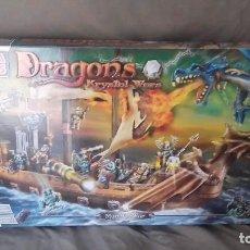Juegos construcción - Lego: DRAGONS KRYSTAL HOMBRE-O-GUERRA ACORAZADO 2003 MEGA BLOKS. Lote 131284231