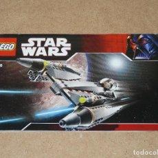 Juegos construcción - Lego: LEGO STAR WARS 7656. Lote 131560698