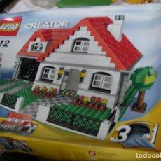 Juegos construcción - Lego: GRAN LOTE CON DOS CAJAS LEGO CREATOR CON INSTRUCCIONES . Lote 131592318