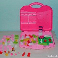 Juegos construcción - Lego: LEGO - MALETÍN ORIGINAL + PIEZAS. Lote 132148254