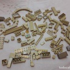 Juegos construcción - Lego: 07-00544 PACK PIEZAS LEGO CREMA. Lote 132363222