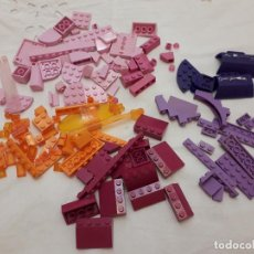 Juegos construcción - Lego: 07-00546 PACK PIEZAS LEGO ROSA-NARANJA-VIOLETA. Lote 132363638