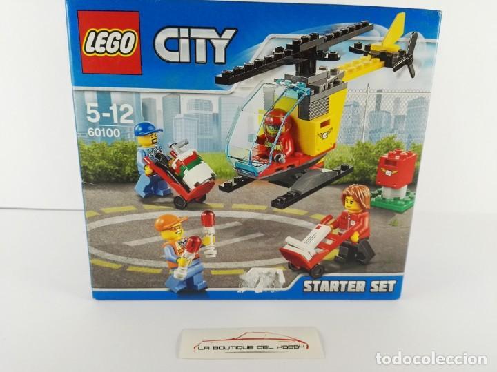 STARTER SET AEROPUERTO LEGO CITY 60100 (Juguetes - Construcción - Lego)