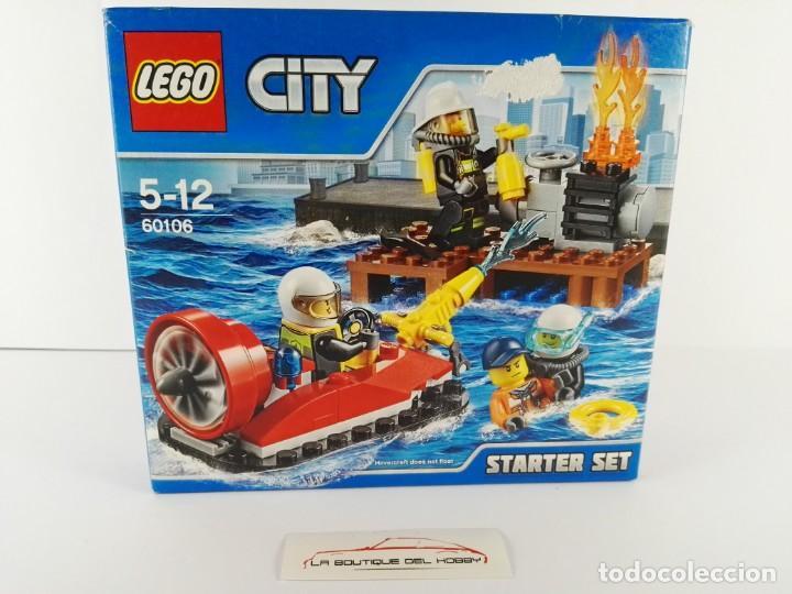 STARTER SET BOMBEROS LEGO CITY 60106 (Juguetes - Construcción - Lego)