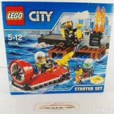 Juegos construcción - Lego: STARTER SET BOMBEROS LEGO CITY 60106. Lote 132460098
