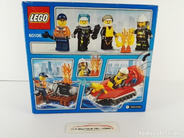 Juegos construcción - Lego: STARTER SET BOMBEROS LEGO CITY 60106 - Foto 2 - 132460098