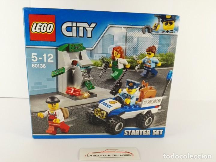 STARTER SET POLICIA LEGO CITY 60136 (Juguetes - Construcción - Lego)