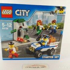 Juegos construcción - Lego: STARTER SET POLICIA LEGO CITY 60136. Lote 132460242