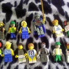 Juegos construcción - Lego: LOTE DE 12 MINIFIGURAS LEGO. Lote 132494834