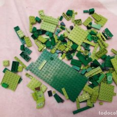 Juegos construcción - Lego: 07-00550 PACK FICHAS LEGO COLOR VERDE. Lote 132523490