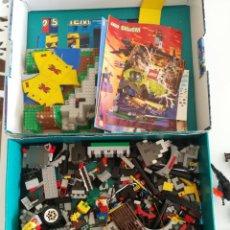 Juegos construcción - Lego: LOTE LEGO VINTAGE 6584 6097 CASTILLO CABALLEROS. Lote 132562530