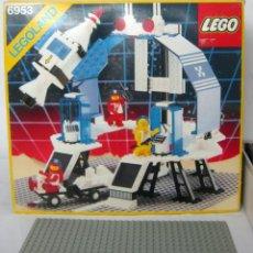 Juegos construcción - Lego: LEGO SPACE . LEGOLAND . 6953 Y OTROS... ESTACION ESPACIAL AÑOS 80 'S ESPACIO. Lote 132594222