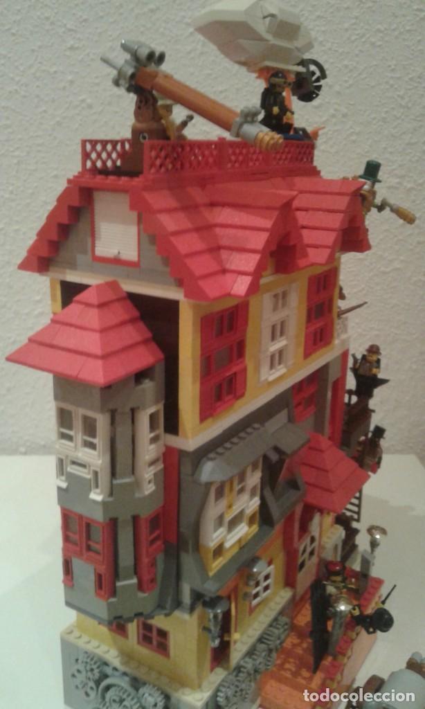 Lego MOC Diorama Sherlock Holmes Vs  Steampunk Band