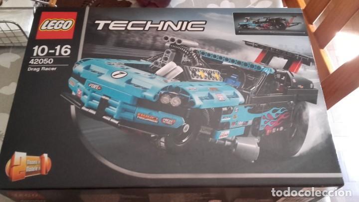 LEGO TECHNIC 42050 DRAG RACER (Juguetes - Construcción - Lego)