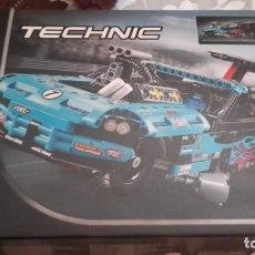 Juegos construcción - Lego: LEGO TECHNIC 42050 DRAG RACER. Lote 132898306