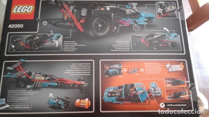 Juegos construcción - Lego: Lego Technic 42050 DRAG RACER - Foto 2 - 132898306