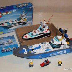 Juegos construcción - Lego: LOTE LEGO SYSTEM POLICIA 4012 Y 7287. Lote 133051878