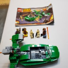 Juegos construcción - Lego: LEGO STAR WARS COMPLETO CON MANUAL DE INSTRUCCIONES MODELO 75091. Lote 133154286
