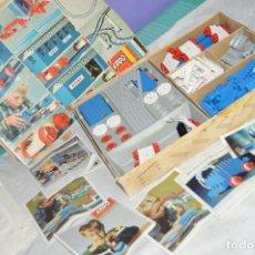 Juegos construcción - Lego: AÑOS 60 - ANTIGUO SET TRENES LEGO SYSTEM - SET Nº 113 - EN CAJA, CON MUCHA DOCUMENTACIÓN - ENVÍO 24H. Lote 128083759