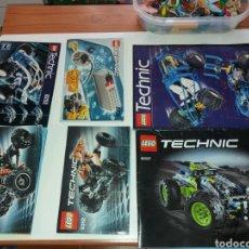 Juegos construcción - Lego: LOTE LIBROS INSTRUCCIONES LEGO TECHNIC. Lote 133434942