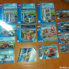 Juegos construcción - Lego: LOTE LIBROS INSTRUCCIONES LEGO CITY. Lote 133435066