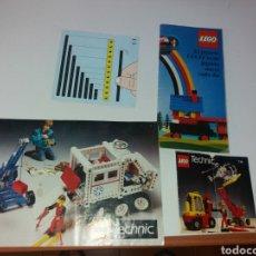 Juegos construcción - Lego: ANTIGUOS CATÁLOGOS LEGO. Lote 133435235