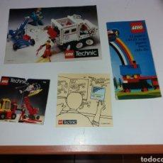 Juegos construcción - Lego: ANTIGUOS CATÁLOGOS LEGO. Lote 133435227