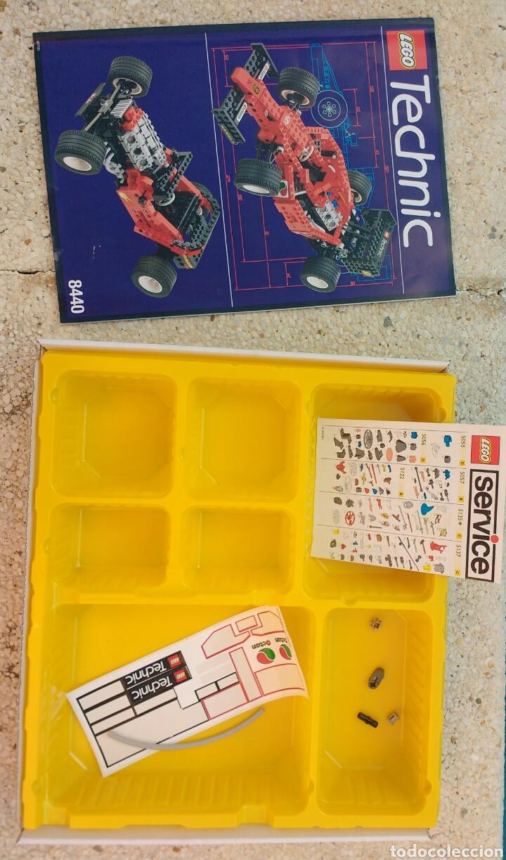Juegos construcción - Lego: LEGO TECHNIC 8440 FORMULA FLASH AÑO 1995 - Foto 2 - 133486206
