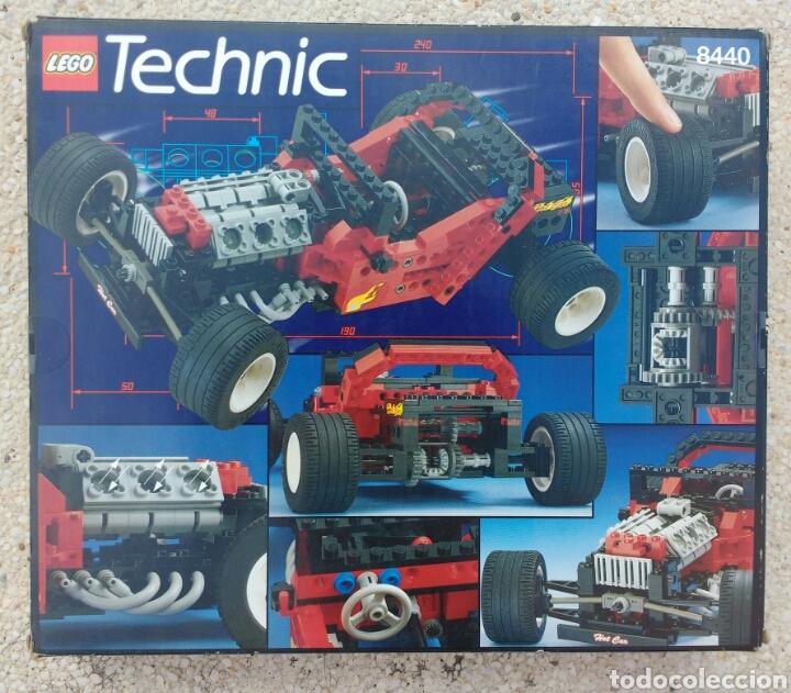 Juegos construcción - Lego: LEGO TECHNIC 8440 FORMULA FLASH AÑO 1995 - Foto 10 - 133486206