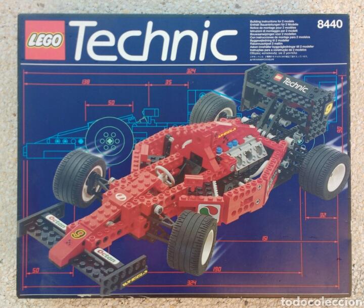 Juegos construcción - Lego: LEGO TECHNIC 8440 FORMULA FLASH AÑO 1995 - Foto 13 - 133486206