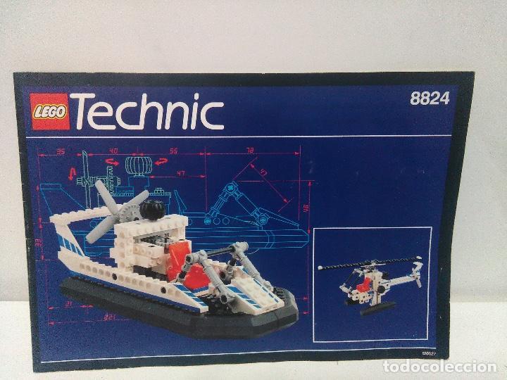 INSTRUCCIONES LEGO TECHNIC REF 8824 (Juguetes - Construcción - Lego)