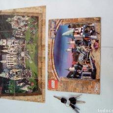 Juegos construcción - Lego: LOTE POSTER INSTRUCCIONES LEGO HARRY POTTER LO Q SE VE EN LA FOTO , AL POSTER SE LE NOTAN LOS PLIEGU. Lote 133802077