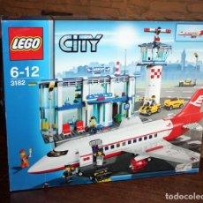 Juegos construcción - Lego: LEGO CITY - AEROPUERTO - REF. 3182 - NUEVO Y PRECINTADO. Lote 133822162