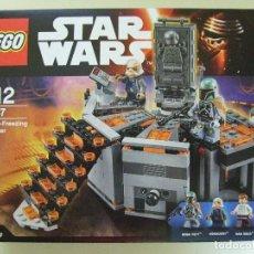Juegos construcción - Lego: CARBON FREEZING CHAMBER LEGO STAR WARS 75137 - FIGURA BOBA FETT HAN SOLO UGNAUGHT CARBONITA. Lote 134054318