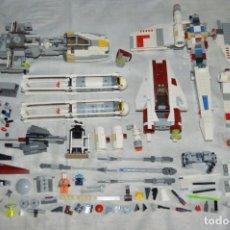 Juegos construcción - Lego: ENORME LOTE DE LEGO STAR WARS - LEGO ORIGINAL - INMENSO LOTE - MUCHAS NAVES Y ACCESORIOS - ENVÍO 24H. Lote 134749770